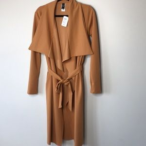 NEW Burnt Orange Trench Coat